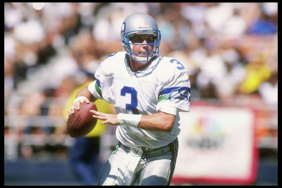 1993: Rick Mirer2nd-overall pick | Position: Quarterback | College: Notre Dame  Highly valued out of college, Mirer singed a five-year, $15 million rookie contract with the Seahawks and started right away. As Seattle's QB for four seasons, he threw for 9,094 yards with a 53.4 percent completion rate. The Seahawks traded him along with a fourth-round pick to Chicago in 1997 for a first-round pick. Mirer never quite regained his stride; Chicago released him, and he bounced from the New York Jets to the San Francisco 49ers to the Oakland Raiders before he retired after the 2003 season. Photo: Stephen Dunn, Getty Images / Getty Images North America