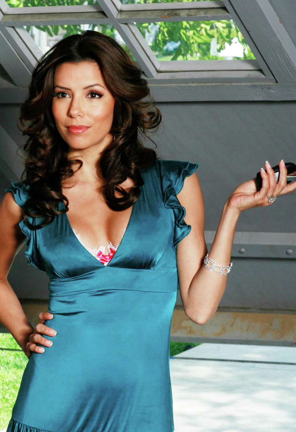 Actress Eva Longoria became a household name with her reoccurring role as Gabriel Solis on the ABC television drama