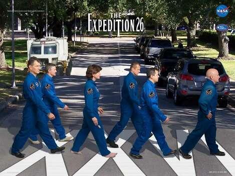 Expedition 26 - Commander Scott Kelly and Flight Engineers Alexander Kaleri, Oleg Skripochka, Catherine Coleman, Dmitry Kondratyev and Paolo Nespoli served as the Expedition 26 crew aboard the International Space Station.