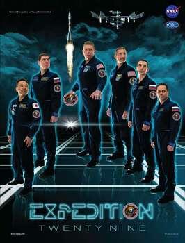 Expedition 29 - Commander Michael Fossum and Flight Engineers Satoshi Furukawa, Sergei Volkov, Anton Shkaplerov, Anatoly Ivanishin and Dan Burbank served as the Expedition 29 crew aboard the International Space Station.