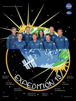 Expedition 19 - Commander Gennady Padalka and flight engineers Michael Barratt and Koichi Wakata served aboard the International Space Station as the Expedition 19 crew.