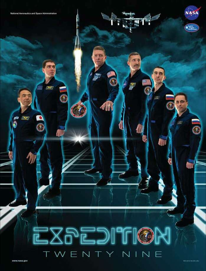Expedition 29 - Commander Michael Fossum and Flight Engineers Satoshi Furukawa, Sergei Volkov, Anton Shkaplerov, Anatoly Ivanishin and Dan Burbank served as the Expedition 29 crew aboard the International Space Station.
