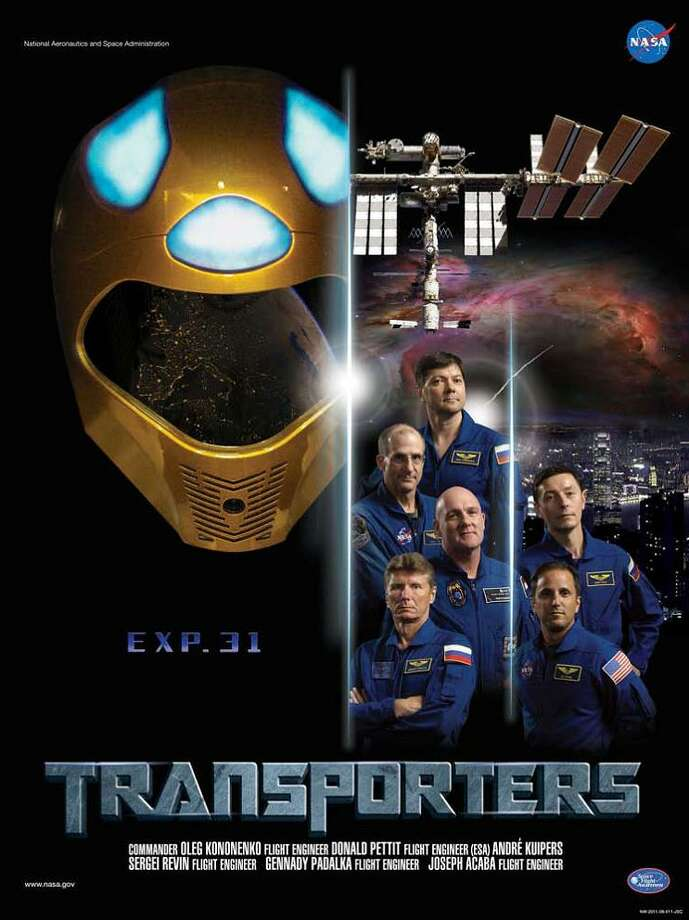 Expedition 31 Commander Oleg Kononenko and Flight Engineers André Kuipers, Don Pettit, Joe Acaba, Gennady Padalka and Sergei Revin served as the Expedition 31 crew aboard the International Space Station.