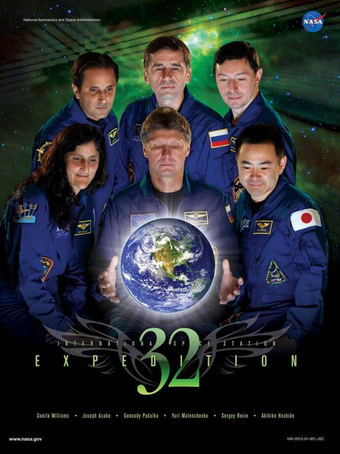Expedition 32 - Commander Gennady Padalka and Flight Engineers Joe Acaba, Sergei Revin, Sunita Williams, Yuri Malenchenko and Akihiko Hoshide served as the Expedition 32 crew aboard the International Space Station.