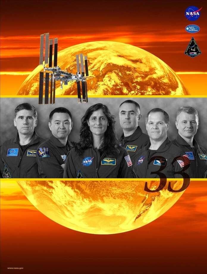 Expedition 33 - Commander Sunita Williams and Flight Engineers Yuri Malenchenko, Akihiko Hoshide, Kevin Ford, Oleg Novitskiy and Evgeny Tarelkin served as the Expedition 33 crew aboard the International Space Station.