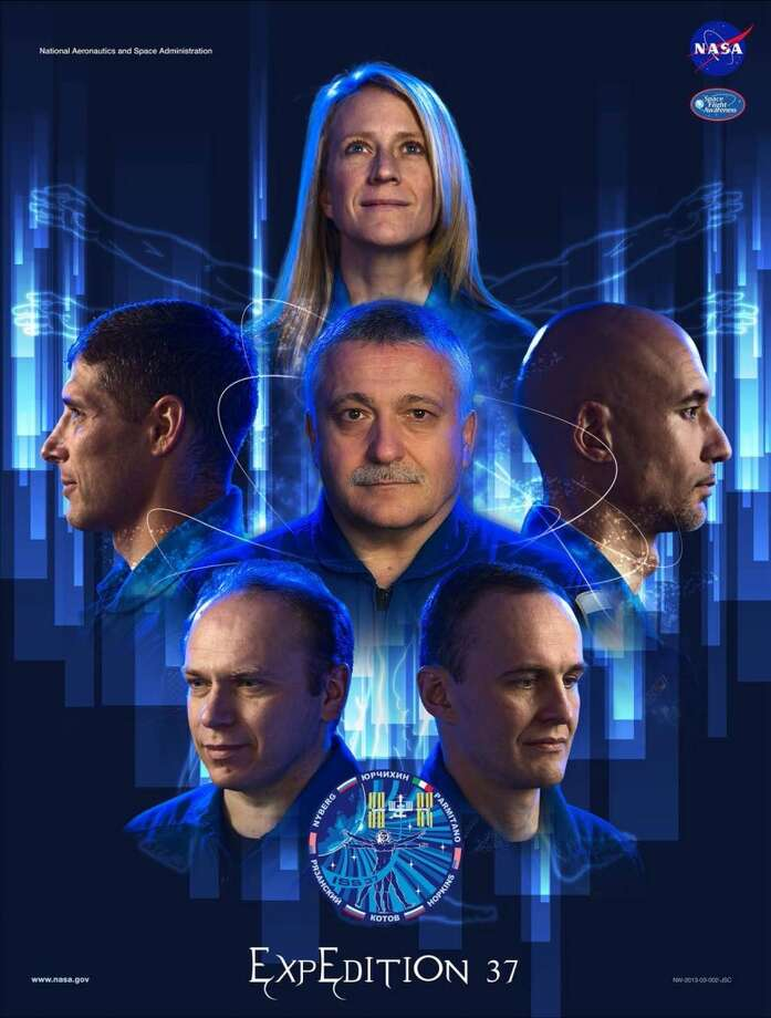 Expedition 37 - Commander Fyodor Yurchikhin and Flight Engineers Karen Nyberg, Luca Parmitano, Oleg Kotov, Sergey Ryzansky and Michael Hopkins will serve as the Expedition 37 crew aboard the International Space Station.