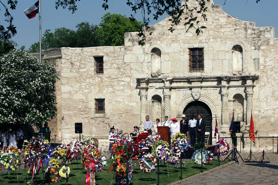 San Antonio is home to The Alamo, which is located in downtown's Alamo Plaza. More than 2.5 million people per year come to see the attraction, according to the landmark's website. The location was the site of critical turning points in the Texas Revolution. Admission to the Alamo is free.  Photo: CYNTHIA ESPARZA, For The San Antonio Express-News / SAN ANTONIO EXPRESS-NEWS