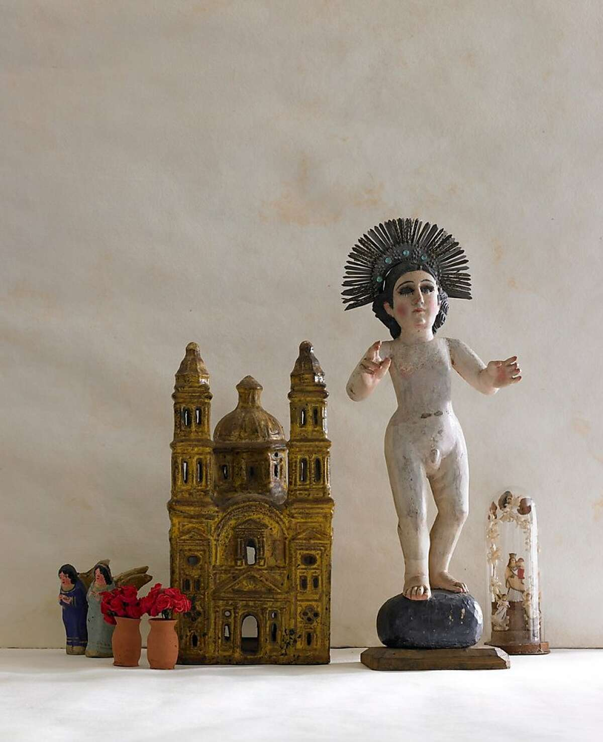 Items from the collection that Rex May donated to the Mexican Museum are part of a show opening Friday.