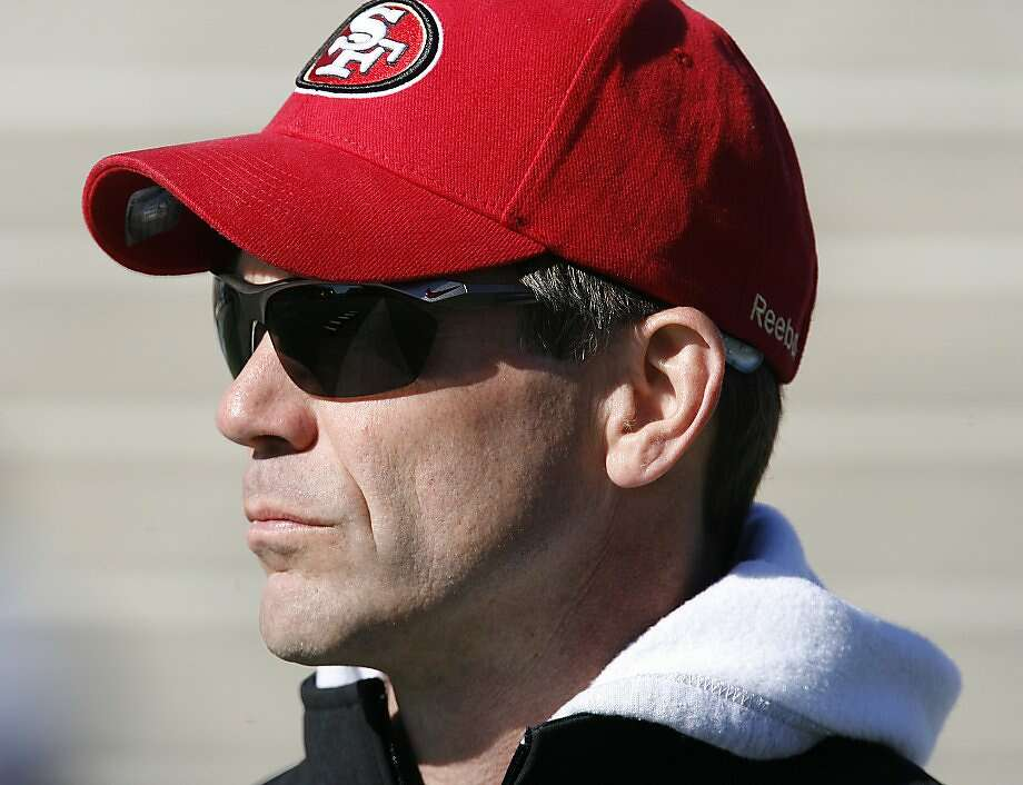 49ers GM Trent Baalke has 13 draft picks this week. Photo: Chip English, Special To The Chronicle
