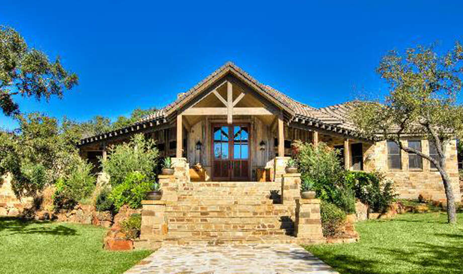 The home at 508 Tomahawk Trail, San Antonio was inspired by Aspen culture.