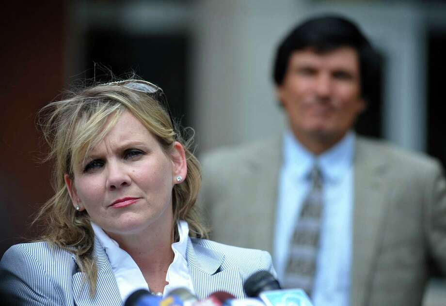 """Christi McCoy, attorney for Paul Curtis, said her client should be released on bond. """"Not one single shred of evidence"""" has been found to link him with the poisoned letters, she said. Photo: Associated Press"""