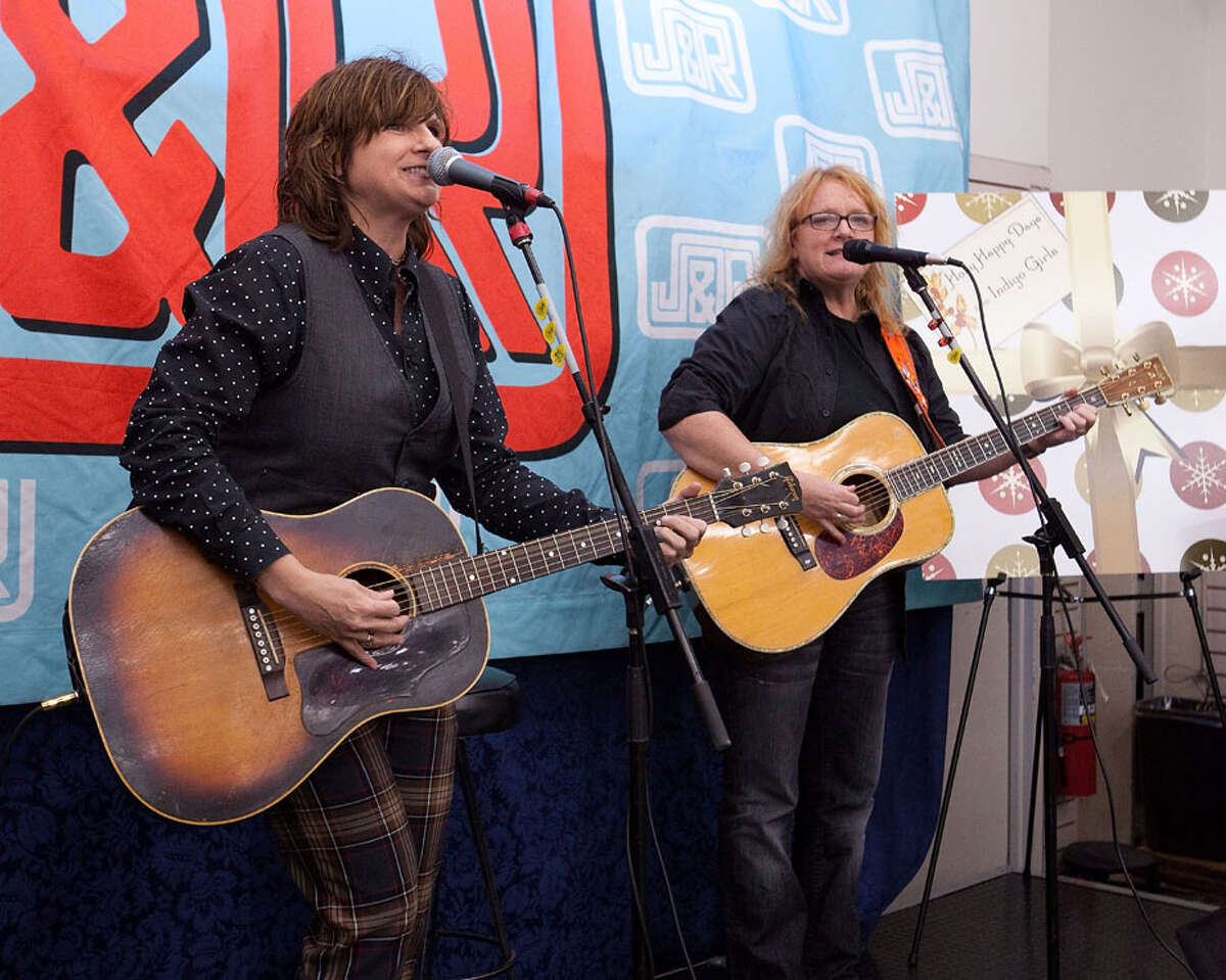 Amy Ray and Emily Saliers are folk rock band, The Indigo Girls. When: Friday, Nov. 6, 8 p.m. Where: Troy Savings Bank Music Hall, 30 Second Street, Troy. For more info and tickets, visit the website.