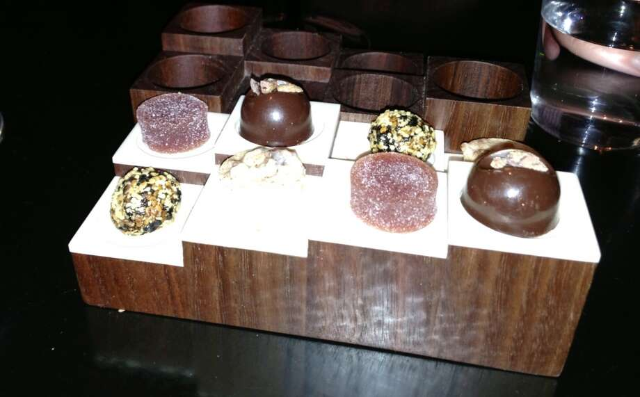 Chocolate presentation.