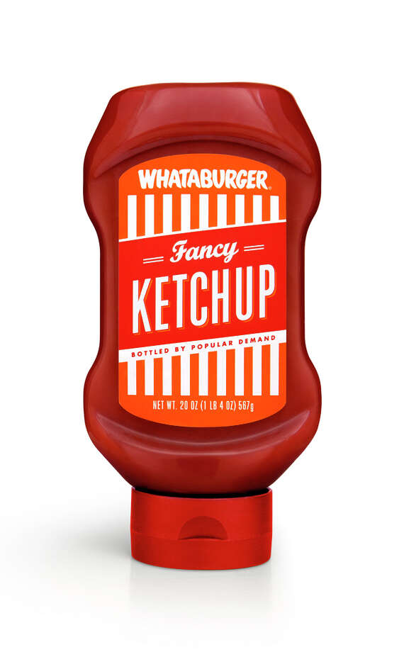 Whataburger will launch into retail sales for the first time by bottling its popular line of condiments   Fancy Ketchup, Spicy Ketchup and Original Mustard   making them available exclusively at all Texas and Mexico H-E-B stores this summer. Shown in the picture is Whataburger Fancy Ketchup. Photo: Courtesy Photo