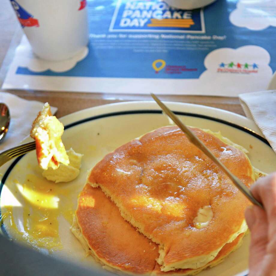 IHOP's fluffy buttermilk pancakes would taste so much better at home without those Sunday morning crowds.  Photo: John Carl D'Annibale, Albany Times Union / ONLINE_YES