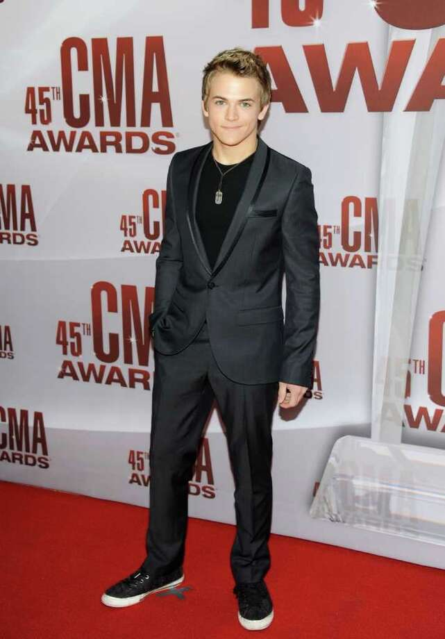 Country star Hunter Hayes, 21, has already won five awards, including New Artist of the Year. No, no jealously here. Photo: Evan Agostini, Associated Press / AGOEV