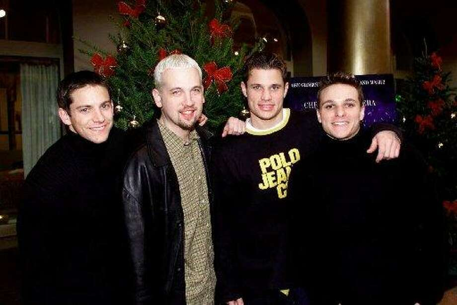 98 Degrees became popular in the mid-to late '90s with the Backstreet Boys, N'Sync and O-Town.