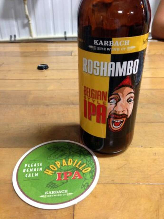 Roshambo is a Belgian IPA.