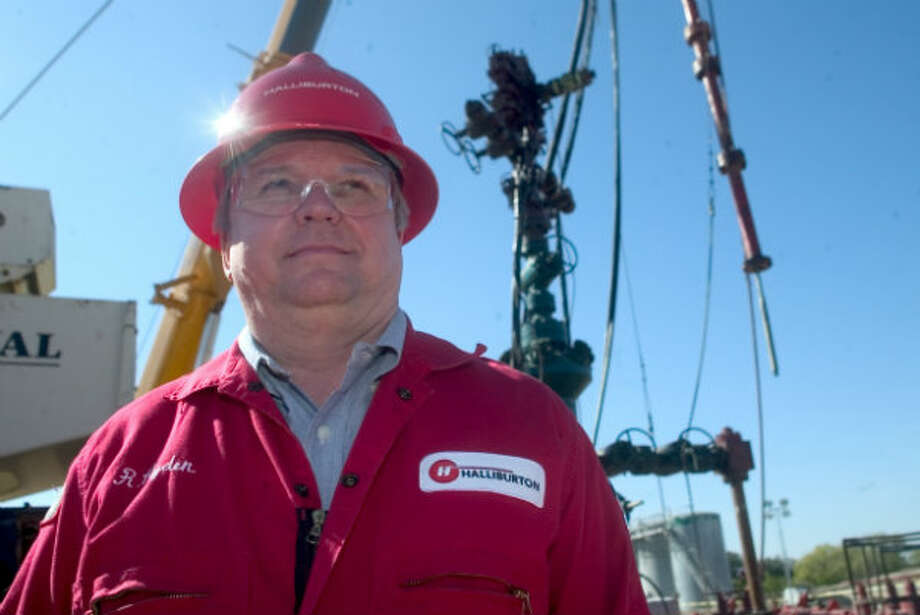 Halliburton Technology Director Ron Hyden has seen many changes in the oil/gas industry over 30 years and is excited about the new opportunities to come as technology in the field is being implemented. Photo: Timothy C. Baker