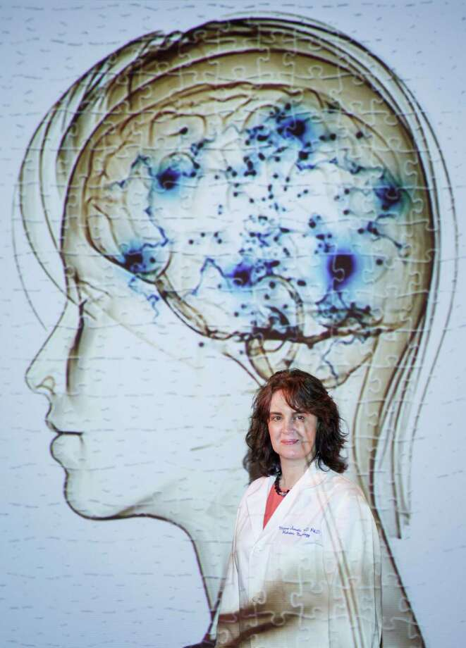 Mirjana Maletic-Savatic, a neurologist at Texas Children's Hospital, is doing intriguing research with autism and the brain, Friday, April 12, 2013, in Houston. ( Michael Paulsen / Houston Chronicle ) Photo: Michael Paulsen, Staff / © 2013 Houston Chronicle