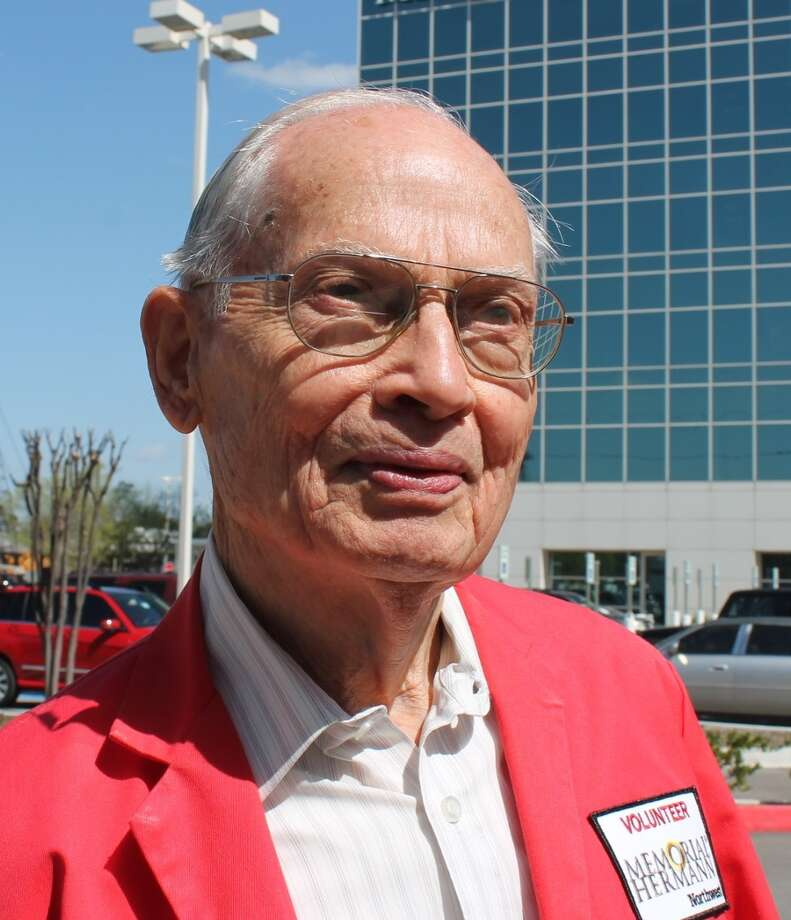 Charles Cernik, 88, has been named 2013 Volunteer of the Year by RSVP of the Texas Gulf Coast, a volunteer network for people older than 55. Photo: Courtesy Photo