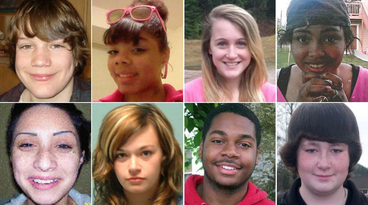 On any given day, Washington police are searching for information on dozens of missing children. Some have received extensive publicity in the hope that the public's help will bring them home; many more, though, quietly disappear with little alarm. Here's a look at the children listed as missing by the State Patrol, as well as several other people with Washington ties for whom the FBI is searching. Unless otherwise specified, the ages given were the child's age when he or she went missing.