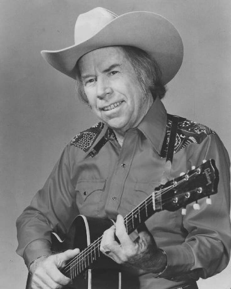 """Born in Oklahoma and raised in Texas, Tillman early on played swing, honky tonk and jazz, a versatility that would shape his music and impact a young Nelson. A great songwriter, Tillman's greatest influence on Nelson is perhaps most audible in his singing, as he tended to drift just behind the beat with his phrasing. Nelson, who covered Tillman's """"It Makes No Difference Now"""" among several others among his songs, inducted him into the Country Music Hall of Fame. He died of leukemia at 88. Photo: Handout"""