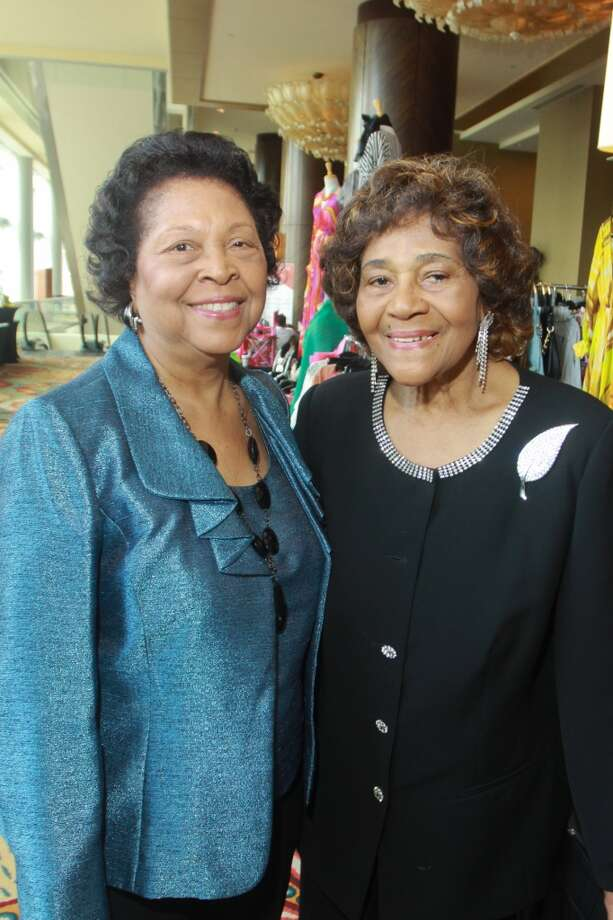 (For the Chronicle/Gary Fountain) Dorothy Booker, left, and Vivian Harrison
