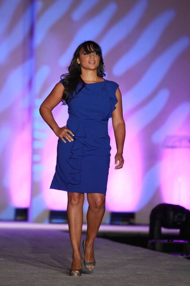 (For the Chronicle/Gary Fountain, April 21, 2013) The fashion show at the annual AKA Scholarship luncheon.