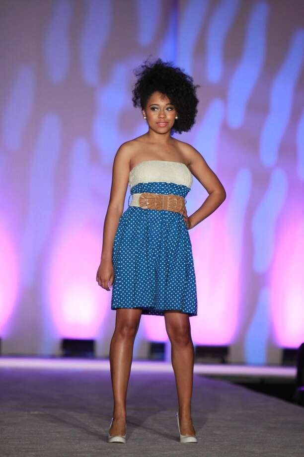 (For the Chronicle/Gary Fountain) The fashion show at the annual AKA Scholarship luncheon..