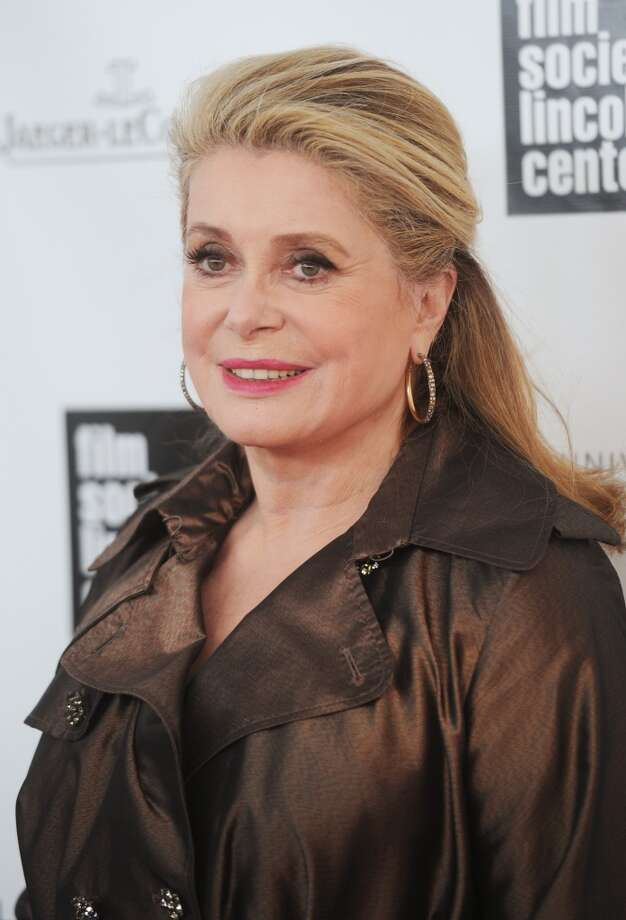 NEW YORK, NY - APRIL 22:  Actress Catherine Deneuve attends the 40th Anniversary Chaplin Award Gala at Avery Fisher Hall at Lincoln Center for the Performing Arts on April 22, 2013 in New York City.  (Photo by Jamie McCarthy/Getty Images)
