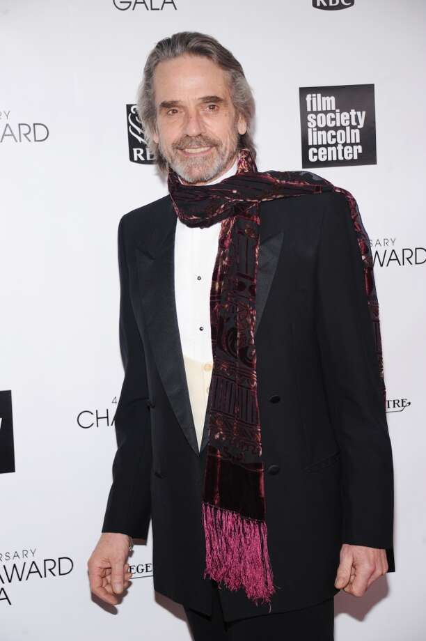 NEW YORK, NY - APRIL 22:  Actor Jeremy Irons attends the 40th Anniversary Chaplin Award Gala at Avery Fisher Hall at Lincoln Center for the Performing Arts on April 22, 2013 in New York City.  (Photo by Jamie McCarthy/Getty Images)
