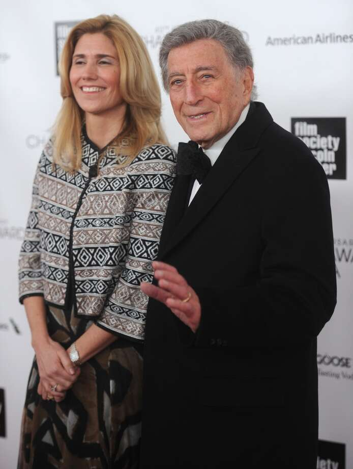 NEW YORK, NY - APRIL 22:  Susan Crow (L) and Tony Bennett attend the 40th Anniversary Chaplin Award Gala at Avery Fisher Hall at Lincoln Center for the Performing Arts on April 22, 2013 in New York City.  (Photo by Jamie McCarthy/Getty Images)
