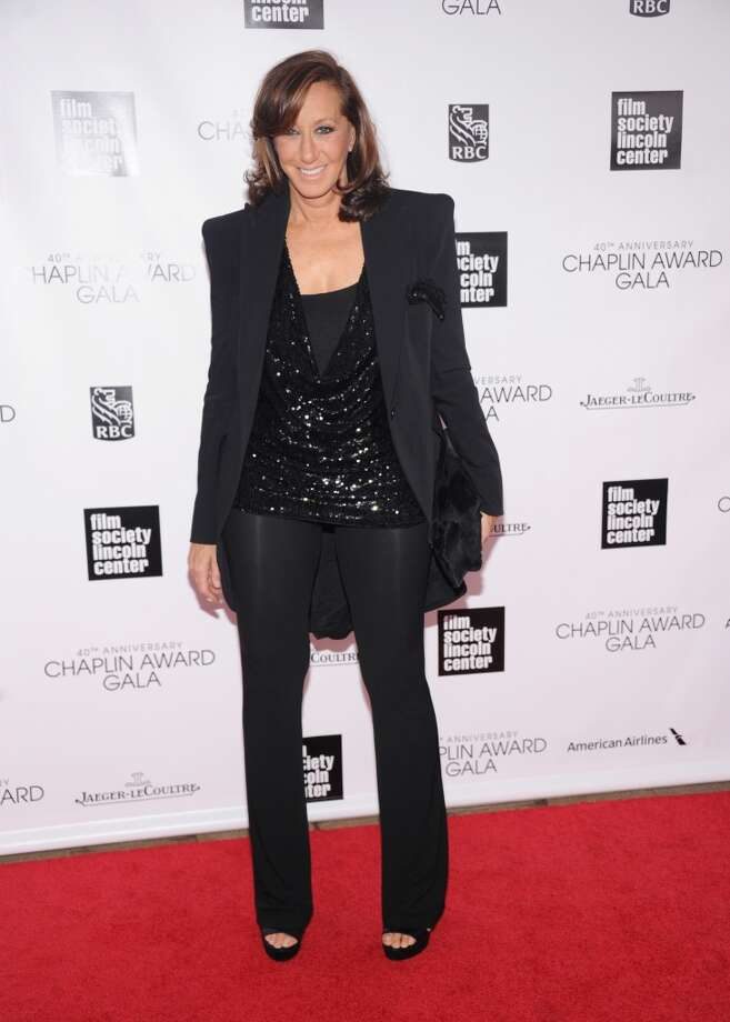NEW YORK, NY - APRIL 22:  Fashion designer Donna Karan attends the 40th Anniversary Chaplin Award Gala at Avery Fisher Hall at Lincoln Center for the Performing Arts on April 22, 2013 in New York City.  (Photo by Jamie McCarthy/Getty Images)