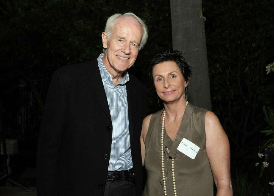 "Mike Farrell's most-notable role since ""M*A*S*H"" may be as the voice of Johnathan Kent, Clark's dad, in ""Superman"" cartoons. Here, Farrell and host Linda Leibovitch attend the People For The American Way Foundation reception honoring 2012 Young People For Fellows on July 12, 2012 in Beverly Hills, Calif. Photo: Rebecca Sapp, WireImage / 2012 WireImage"