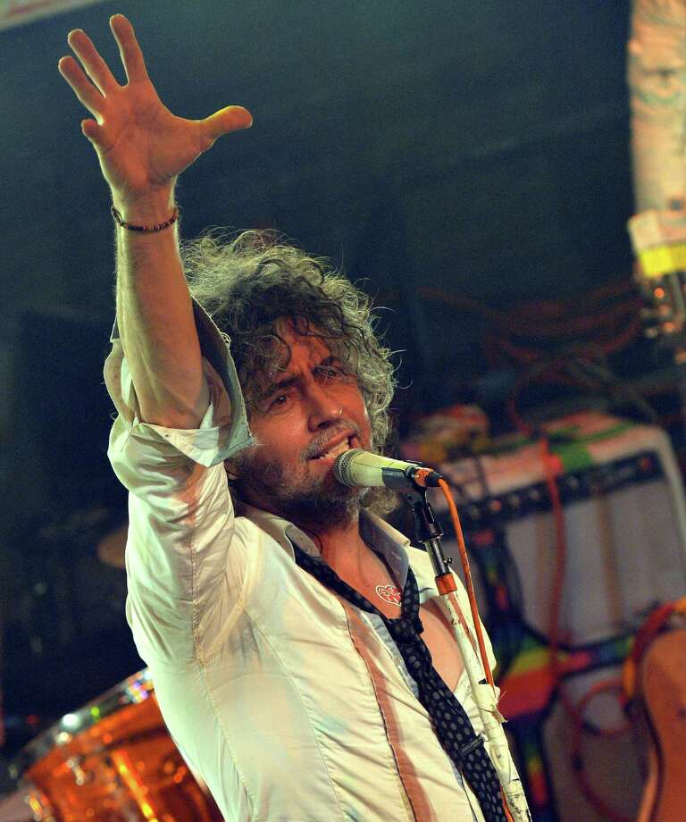 Wayne Coyne mulls grim realities on a new CD. Photo: Rick Diamond / Getty Images