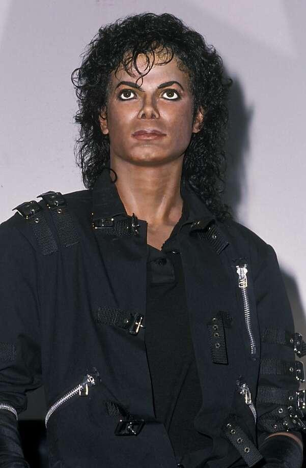 Michael Jackson Wax Sculpture (Photo by Ron Galella/WireImage) Photo: Ron Galella
