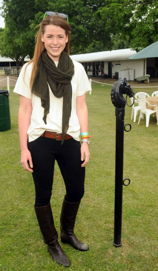 Anna Williams at a Yellowstone Academy benefit at the Houston  Polo Club Sunday April 21, 2013.(Dave Rossman photo)