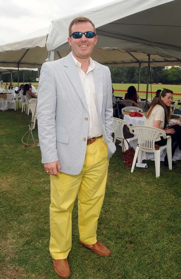 William Lafuze at a Yellowstone Academy benefit at the Houston  Polo Club Sunday April 21, 2013.(Dave Rossman photo)