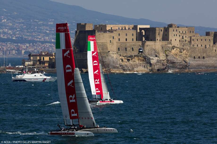 20/04/2013 - Napoli (ITA) - America\'s Cup World Series Naples 2013 - Race Day 3