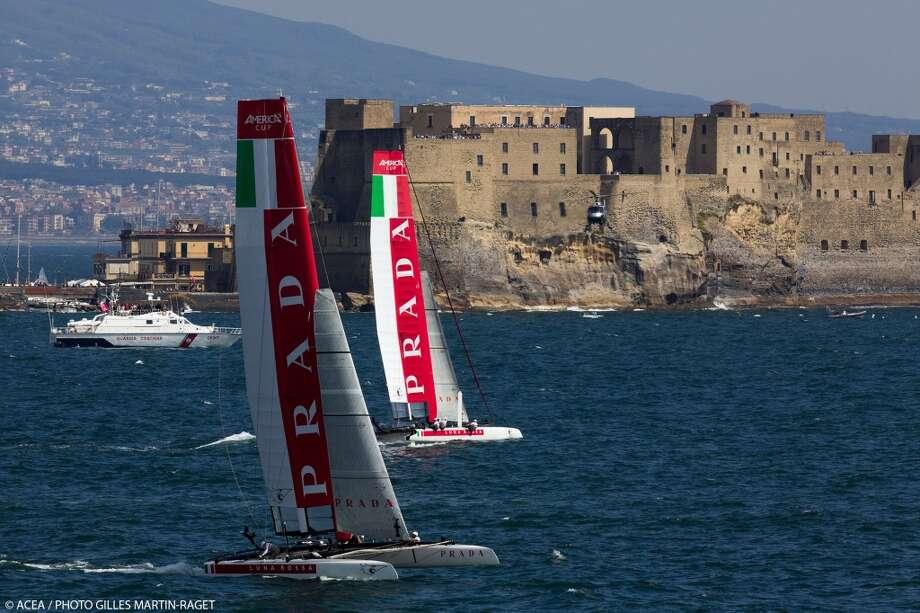 20/04/2013 - Napoli (ITA) - America\'s Cup World Series Naples 2013 - Race Day 3