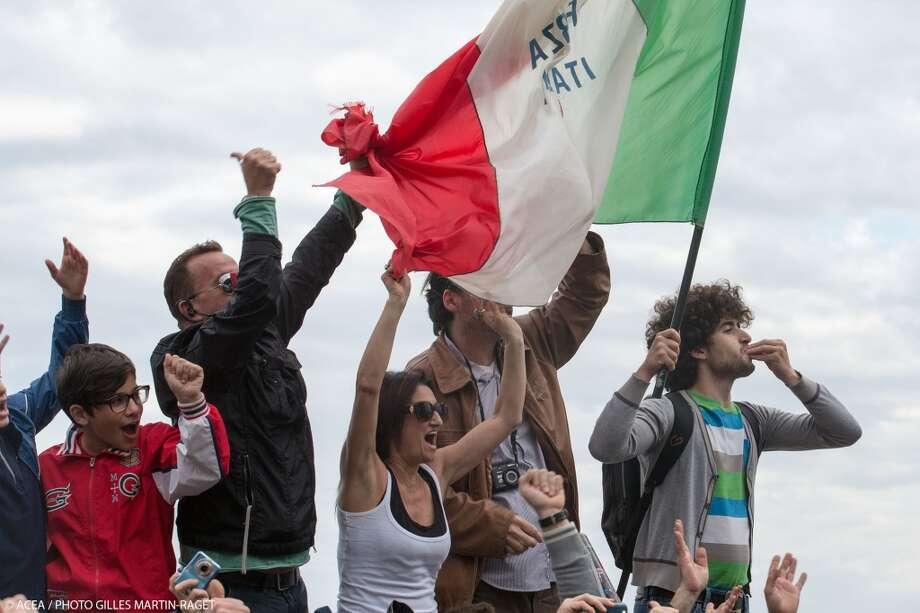21/04/2013 - Napoli (ITA) - America\'s Cup World Series Naples 2013 - Final Race Day