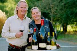 Mat and Barb Gustafson of Paul Mathew Vineyards.