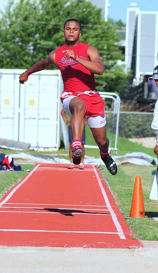 Darrel Colbert is among the regional qualifiers for Lamar who will compete at the Region III-5A meet in Humble this weekend. Photo: Â Tony Bullard 2013, Freelance Photographer / © Tony Bullard & the Houston Chronicle