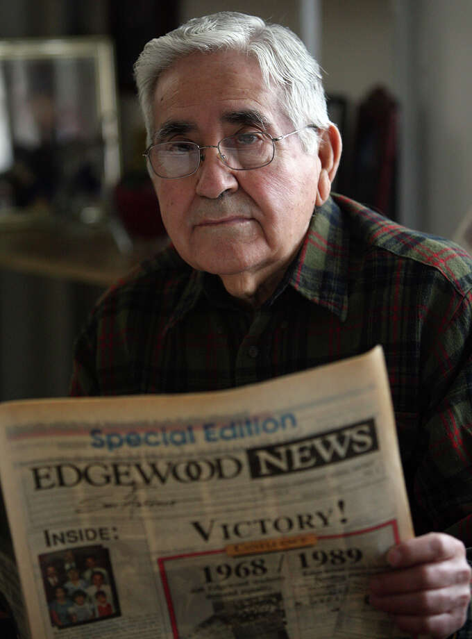 Demetrio Rodriguez, the lead plaintiff in the Edgewood case from the late '60s and '70s, made a major contribution to Texas education. Photo: File Photo, San Antonio Express-News / SAN ANTONIO EXPRESS-NEWS