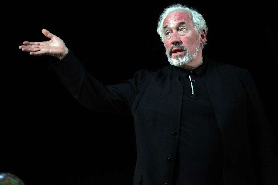 "Actor Simon Callow performs at the ""Being Shakespeare"" performance at the BAM Harvey Theater on April 4, 2012 in New York City. Photo: Robin Marchant, Getty / 2012 Robin Marchant"