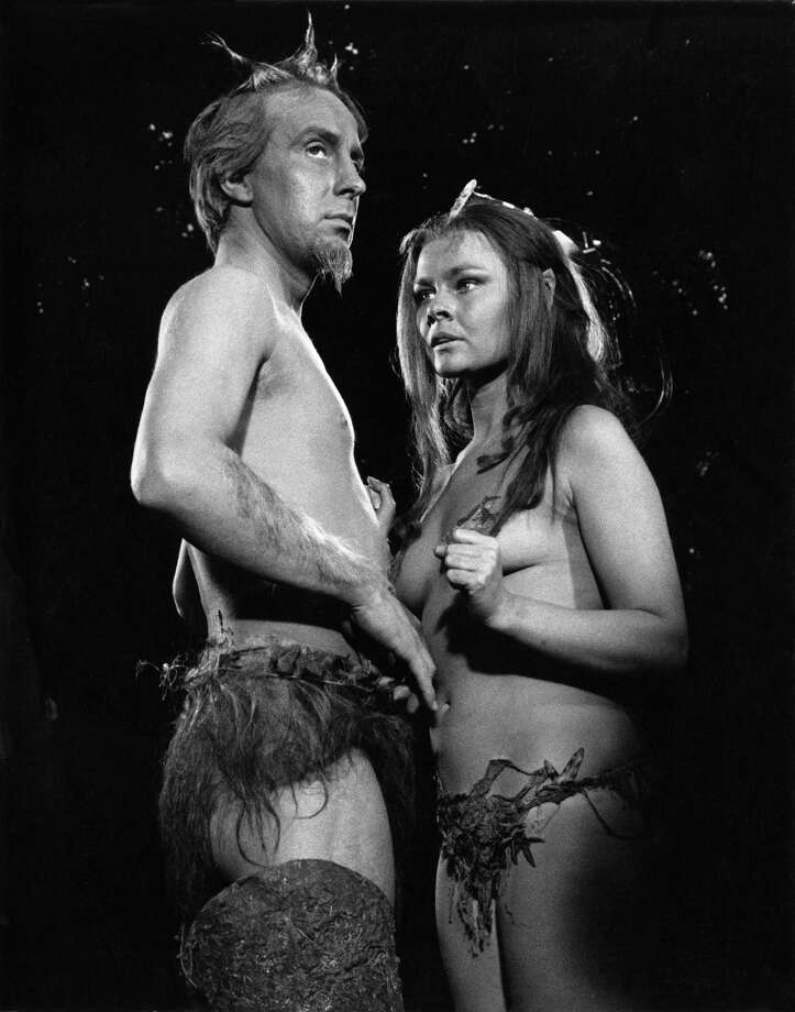 Ian Richardson (1934 - 2007) as Oberon and Judi Dench as Titania during the filming of Shakespeare's play 'A Midsummer Night's Dream', 1968. The film was directed by Peter Hall. Photo: David Farrell, Getty / 2011 David Farrell