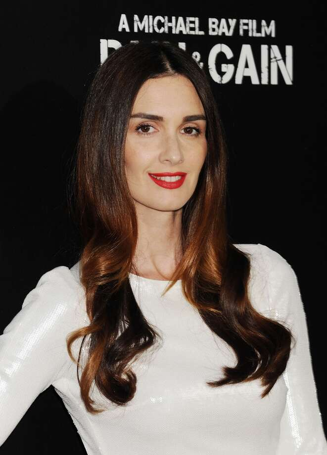 HOLLYWOOD, CA- APRIL 21: Actress Paz Vega attends the \'Pain & Gain\' premiere held at TCL Chinese Theatre on April 22, 2013 in Hollywood, California.(Photo by Jeffrey Mayer/WireImage)
