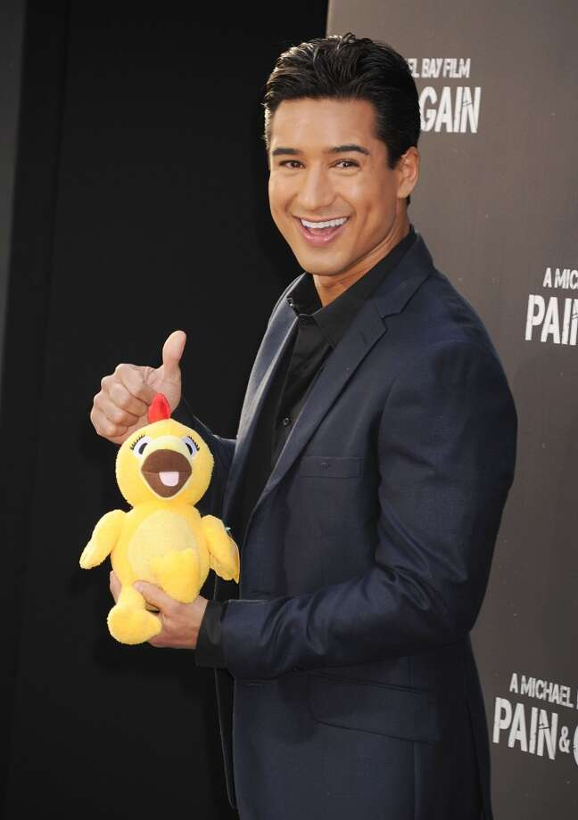 HOLLYWOOD, CA- APRIL 21: TV Personality Mario Lopez attends the \'Pain & Gain\' premiere held at TCL Chinese Theatre on April 22, 2013 in Hollywood, California.(Photo by Jeffrey Mayer/WireImage)
