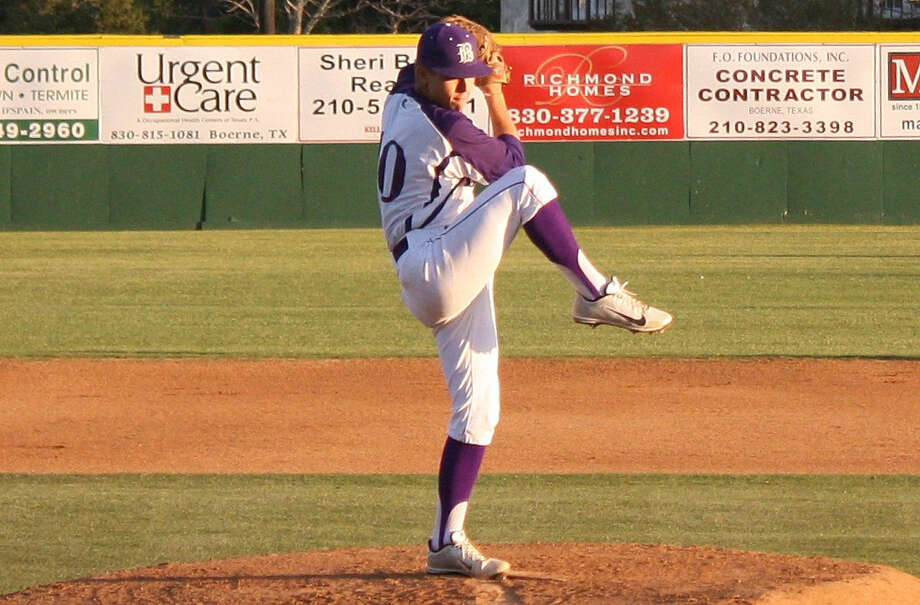 Boerne High School southpaw Will Fowler winds up on the mound during his complete game, a 7-1 win over Canyon Lake. Photo: Mike Reeder / For The Northwest Weekly